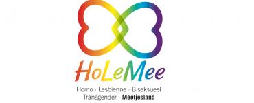 Logo HoLeMee: Homo - Lesbienne - Biseksueel - Transgender - Meetjesland